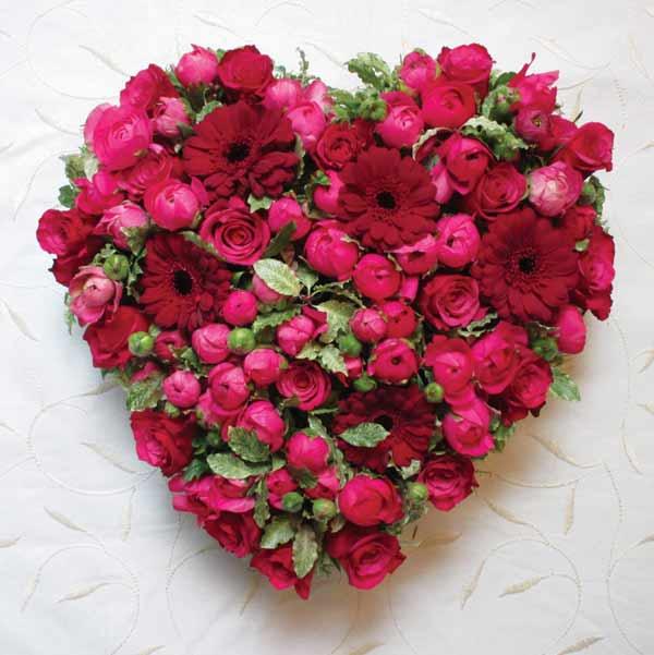flower heart by sue arran flowers