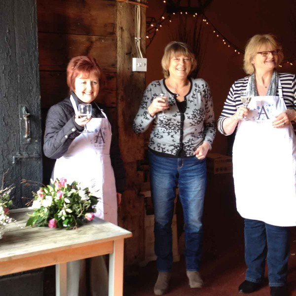 Sue Arran Flower Workshops